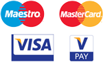 Major Credit Cards accepted Logos